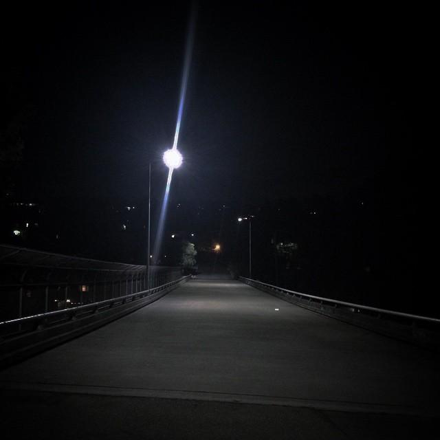 #Oakland nights #bridges #connectors #goodnight #walkalone