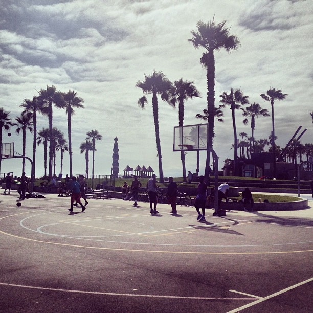 Coming out of retirement??? Courts on Venice Beach