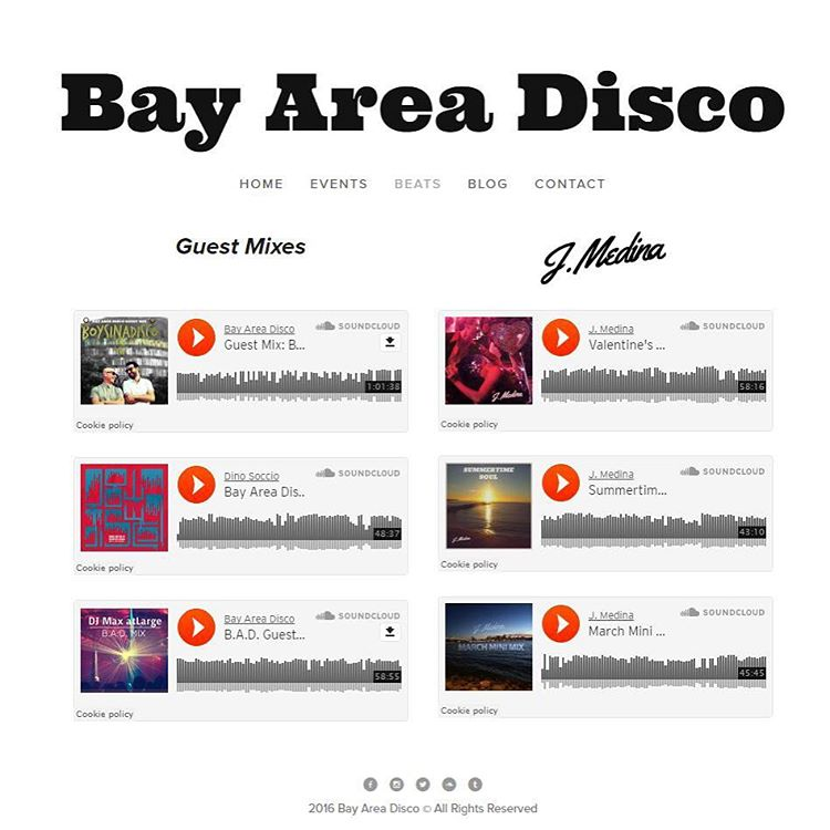 We are proud to announce the release of our newly redesigned website! Be sure to check it out and tell us what you think! We'll be updating it more frequently with posts, music reviews and events! #bayareadisco #oakland #sf #sanjose #disco #soul #funk #nudisco #discohouse #housemusic #summersixteen