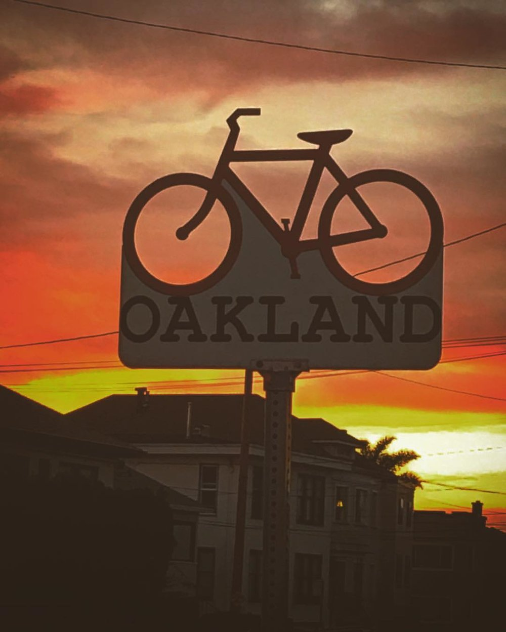 #Sunsets in #Oakland 😎 (at Underwood Oakland)