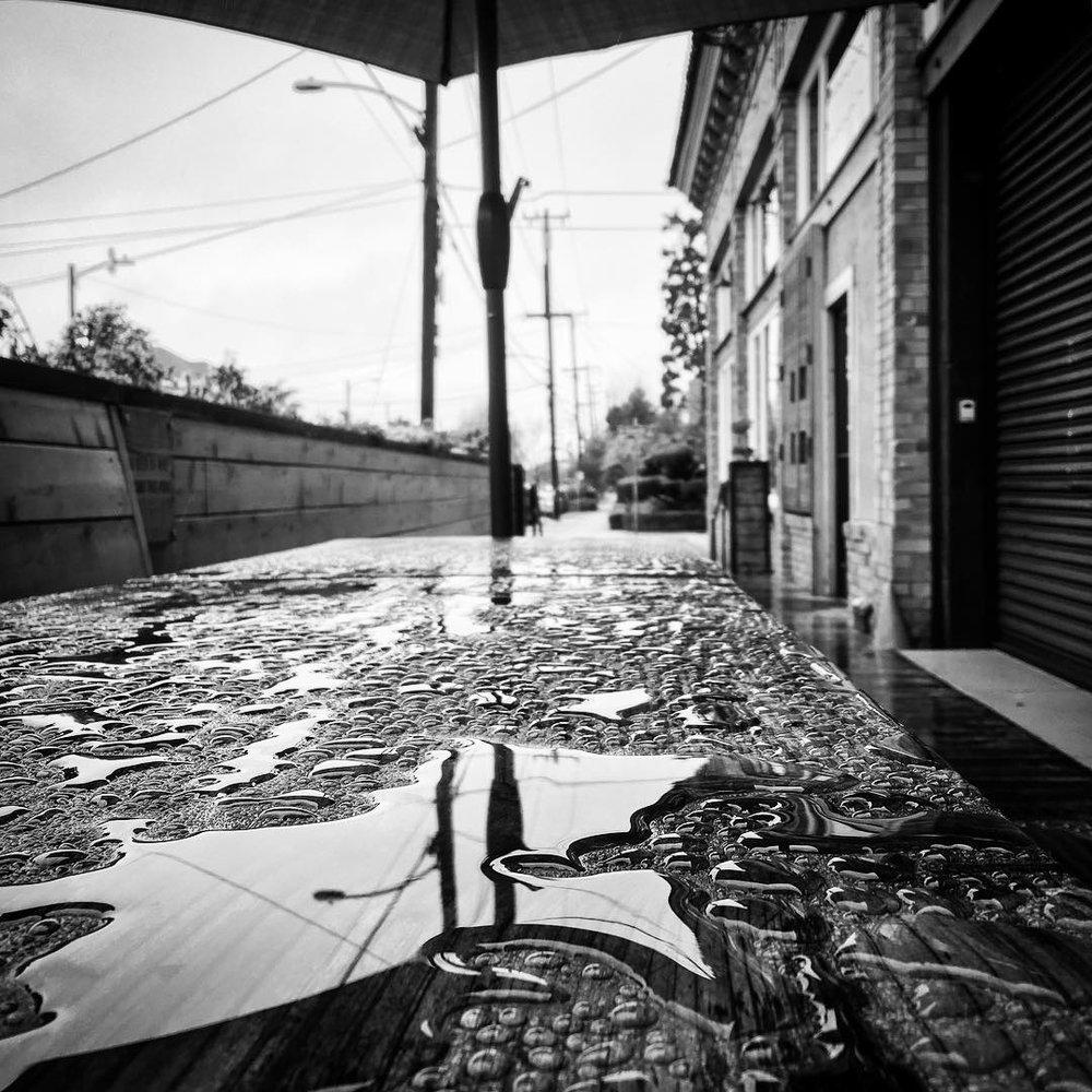 Ok I get it, we're in a drought! Are we good now? ☁️🌧☁️🌧 (at Underwood Oakland)