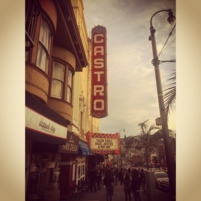 Looking forward to a very informative session with the homie @talibkweli #race #justice #hiphop  (at Castro Theatre)