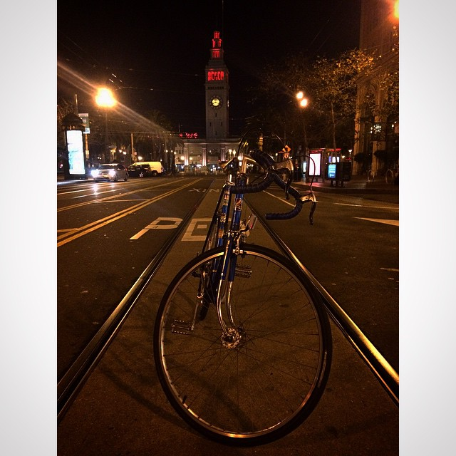 San Francisco it's been a great 3 years and I thank you. Next chapter of my life begins in OAKLAND. #bayarea #sf #oakland #roadbike #ferrybuilding #bikethebay