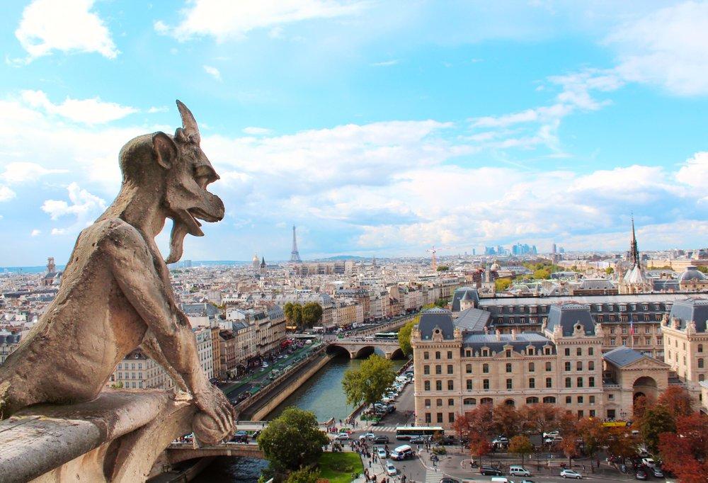 torri-Notre-Dame-Gargoyles