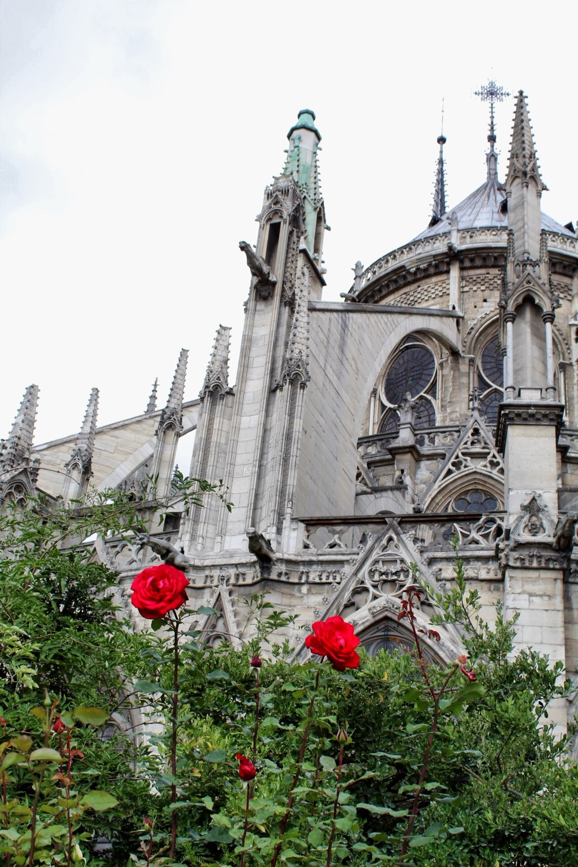 Vista posteriore Notre Dame