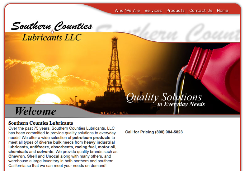 Southern Counties Lubricants LLC