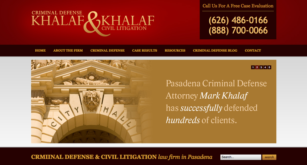 Khalaf & Khalaf - Civil Litigation
