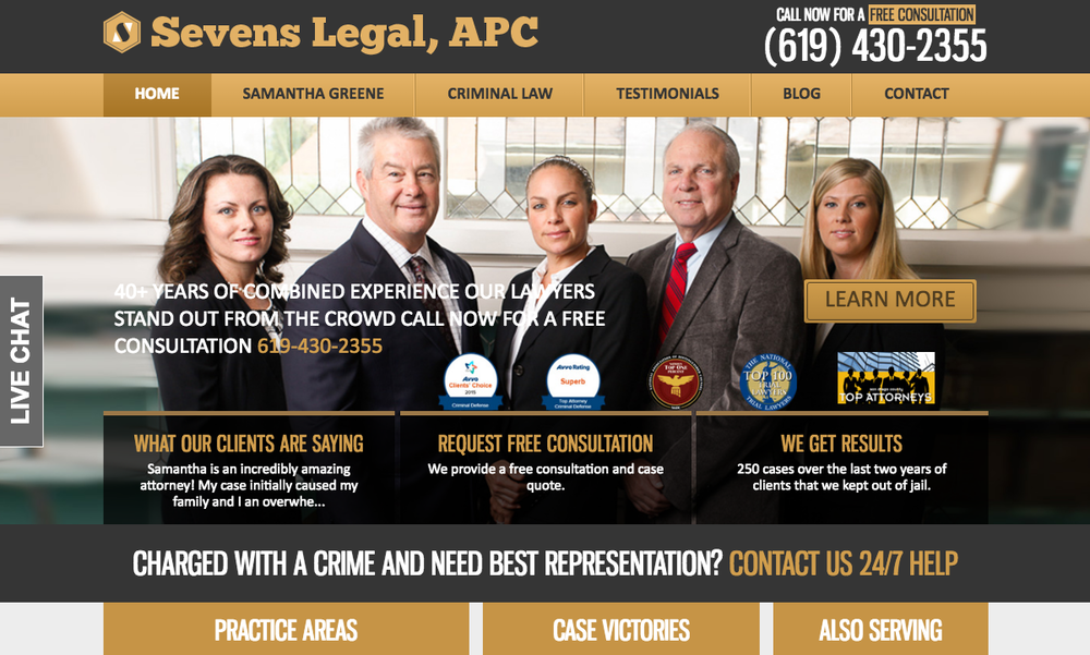 Sevens Legal - Boutique Criminal Defense Attorneys
