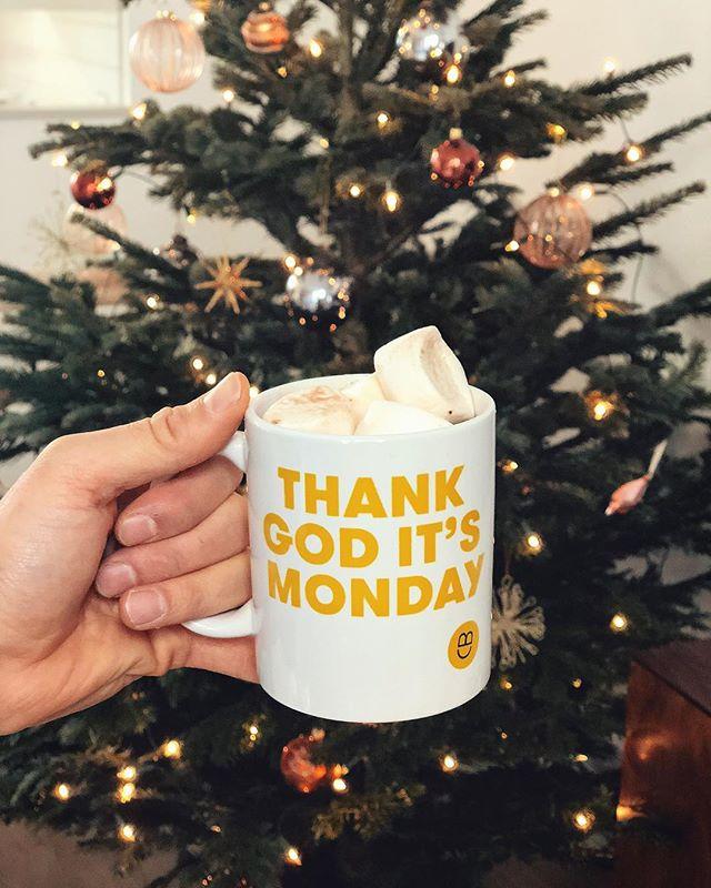 BOOOOM! Onze eigen 'Thank God It's Monday' mok! We willen met Culture Builders zoveel mogelijk bedrijven helpen een goede cultuur te creëeren, zodat mensen met plezier naar hun werk gaan en daar hun beste werk kunnen doen. Ook op maandag 😃🙏🏼 #ThankGodItsMonday #cultureculture #NooitMeerEenMaandagMorgenGevoel