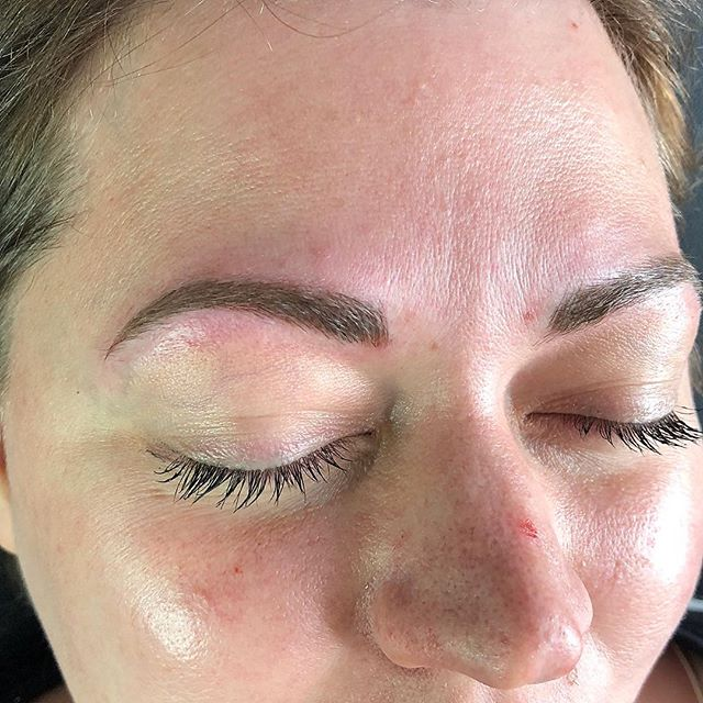 Is she even microbladed?? 🤔 #sonatural