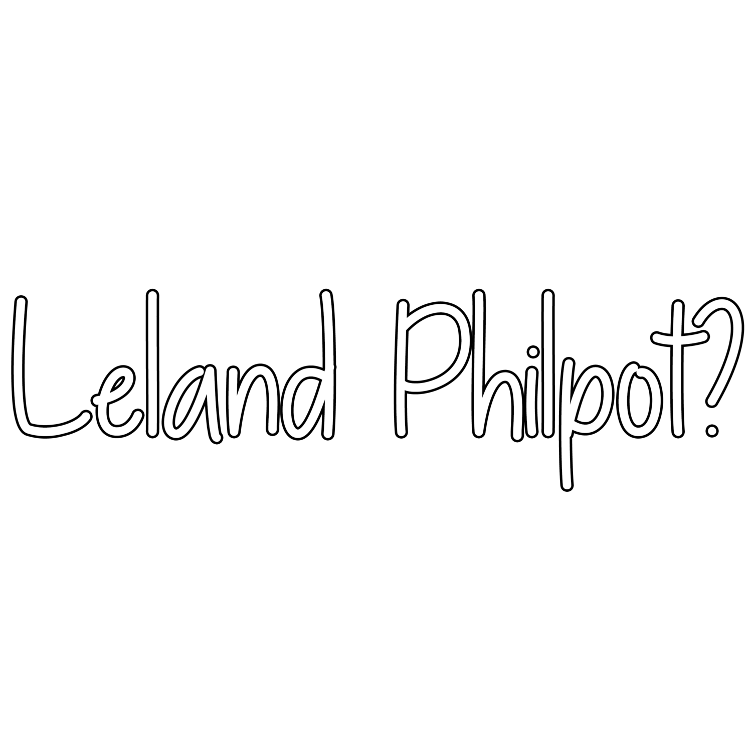 Official Website of Leland Philpot
