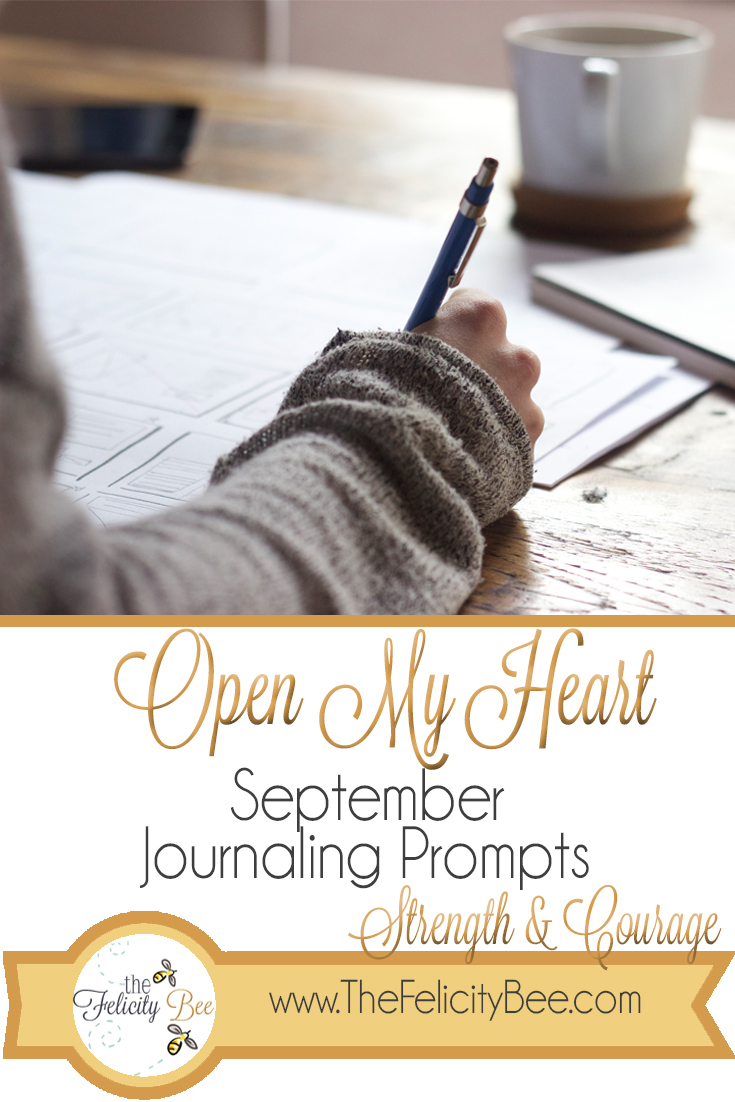 Open My Heart Journaling Prompts