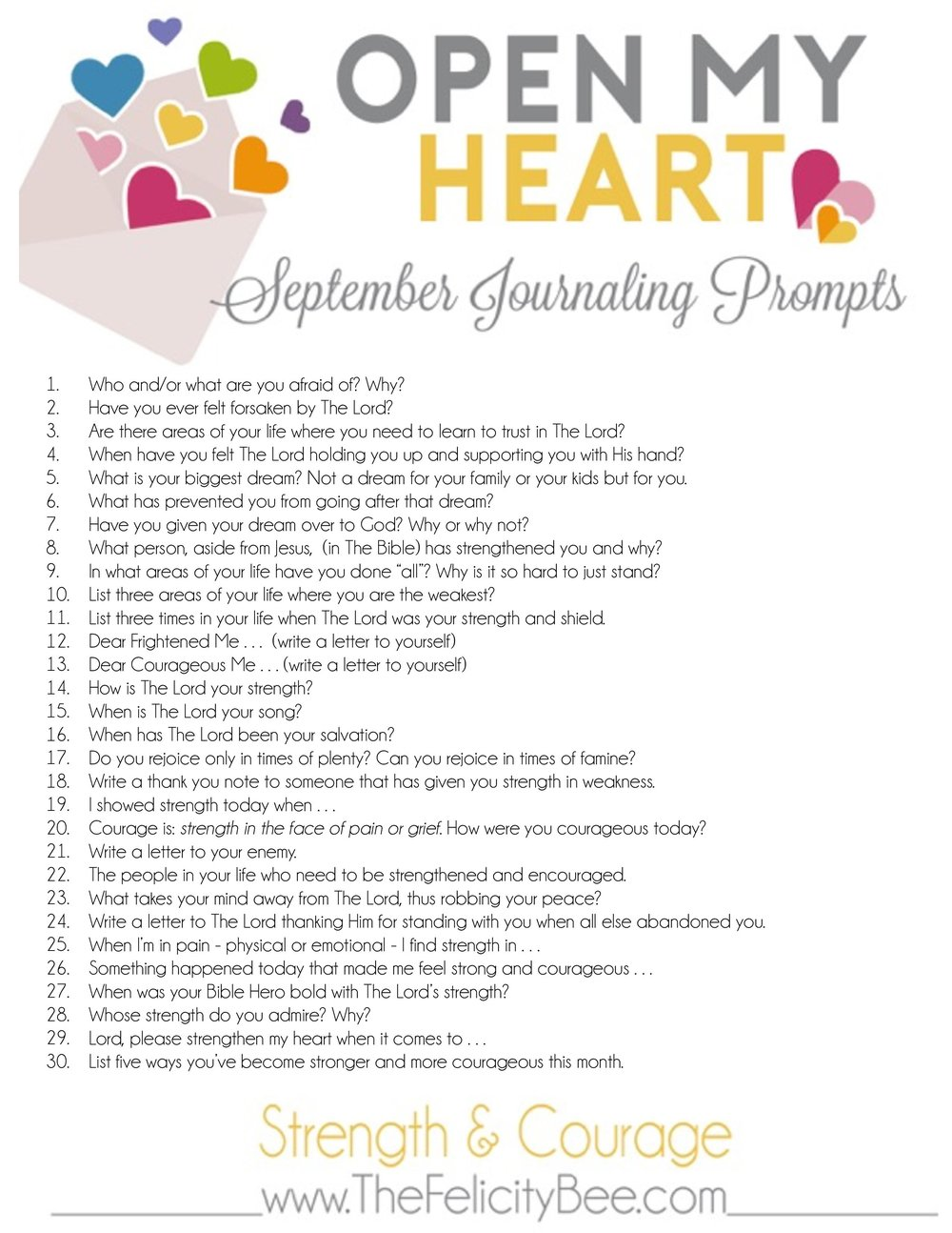 CLICK HERE  to download your printable OPEN MY HEART journaling plans.