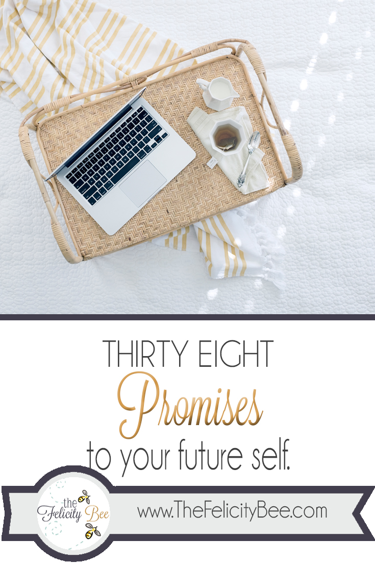 Promises to yourself
