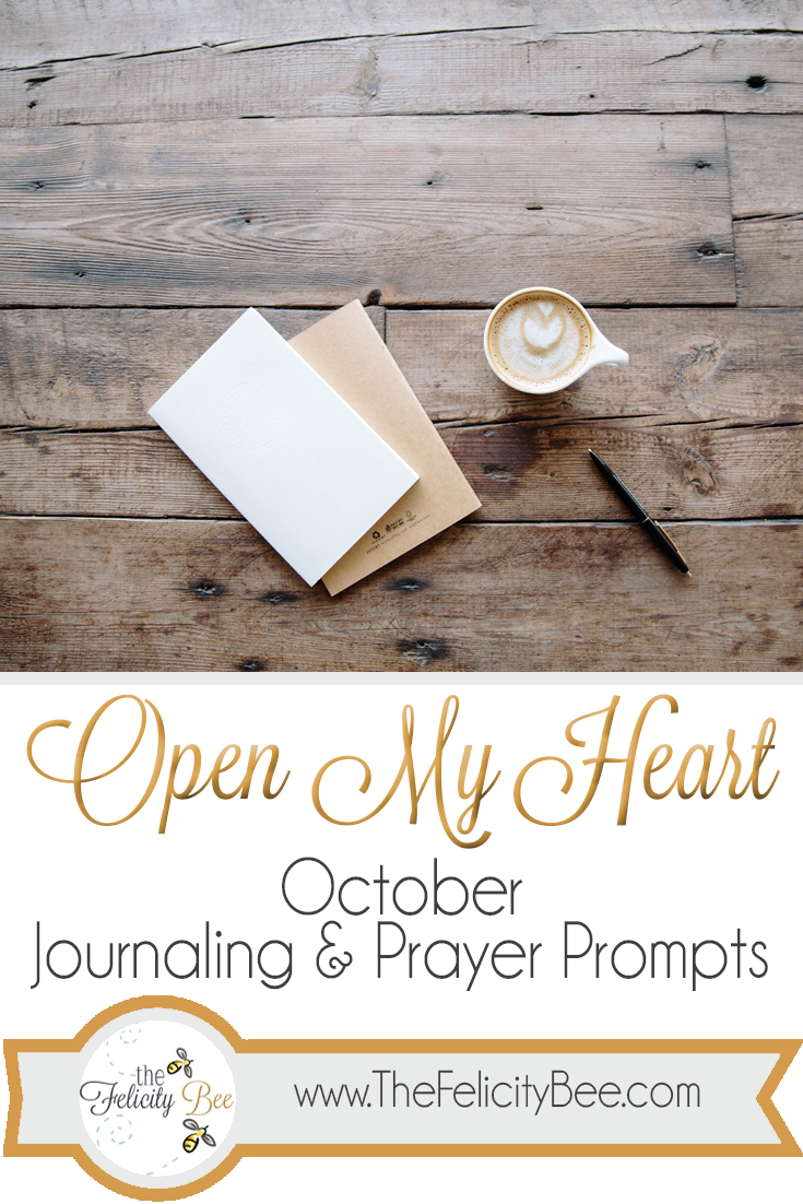 Monthly Prayer Prompts Journal
