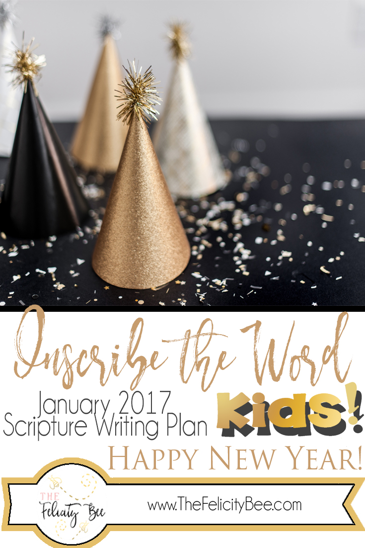 Bible Study Scripture Writing for KIDS