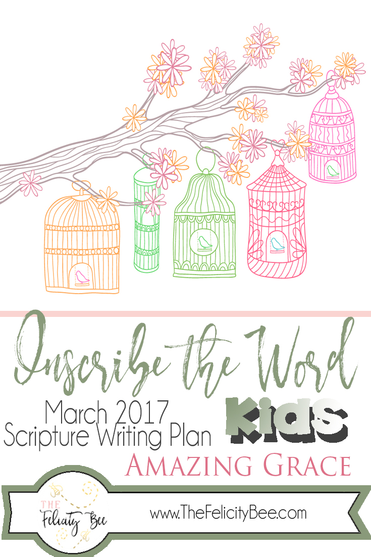 Scripture Writing for Kids