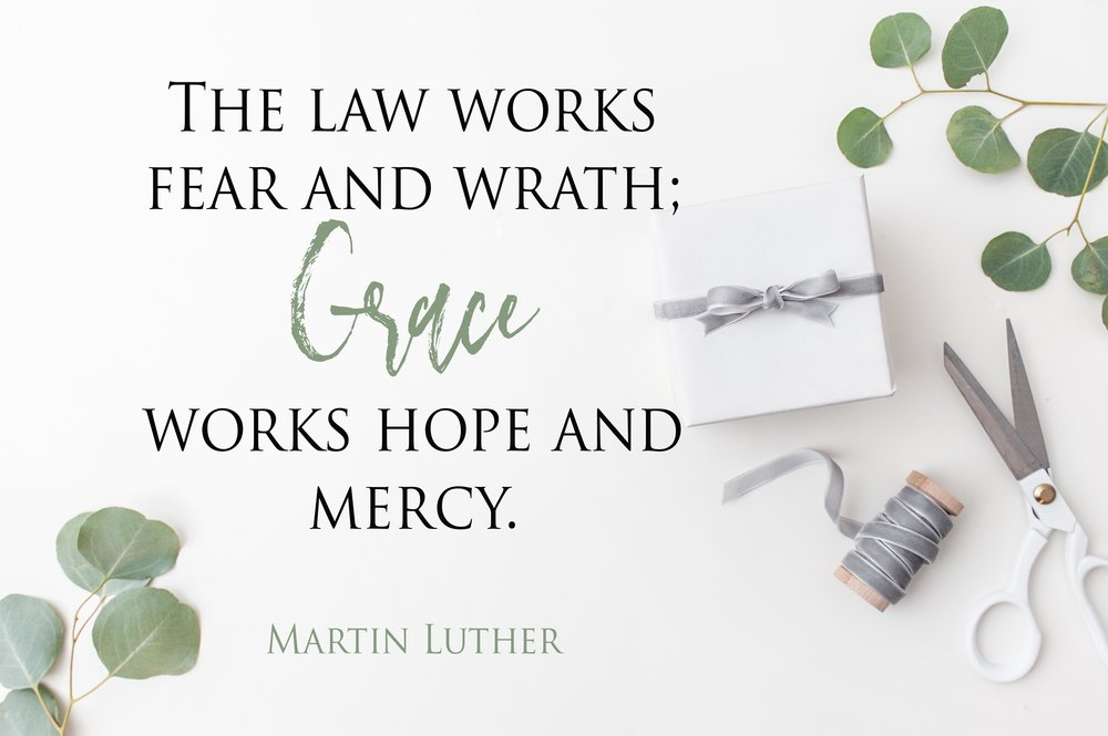 Martin Luther. Law vs Grace