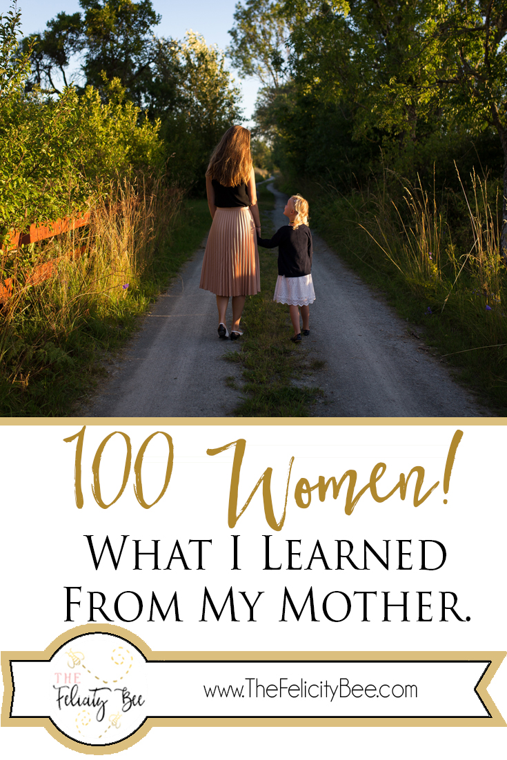 What I learned from my Mother