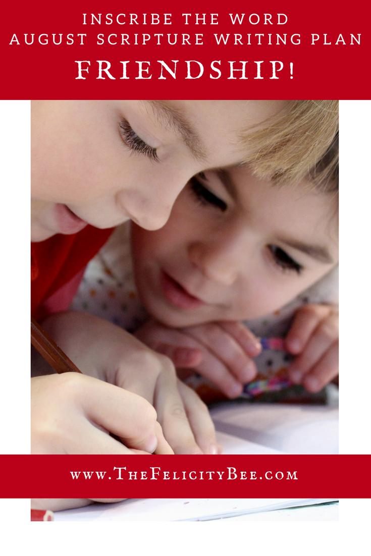 Inscribe the Word Kids Plan