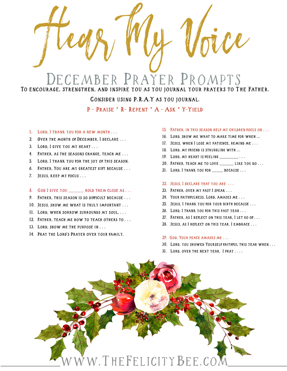 CLICK HERE  to download your prayer prompts.