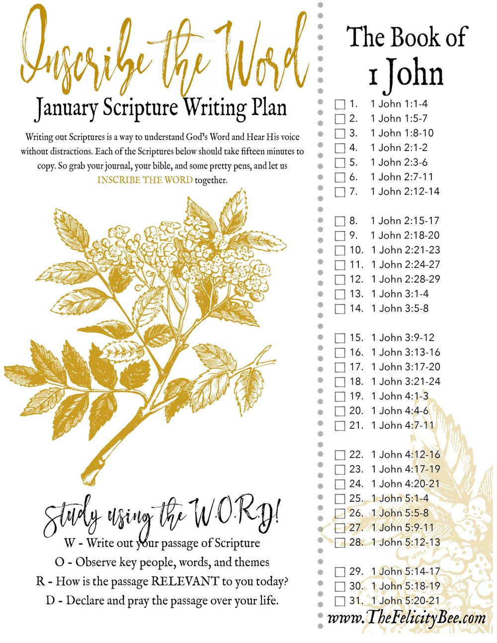 CLICK HERE  to download your 2018 January Scripture Writing Plan.