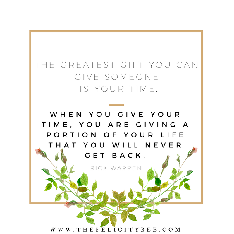 The-greatest-gift-you-can-give-is-your-time