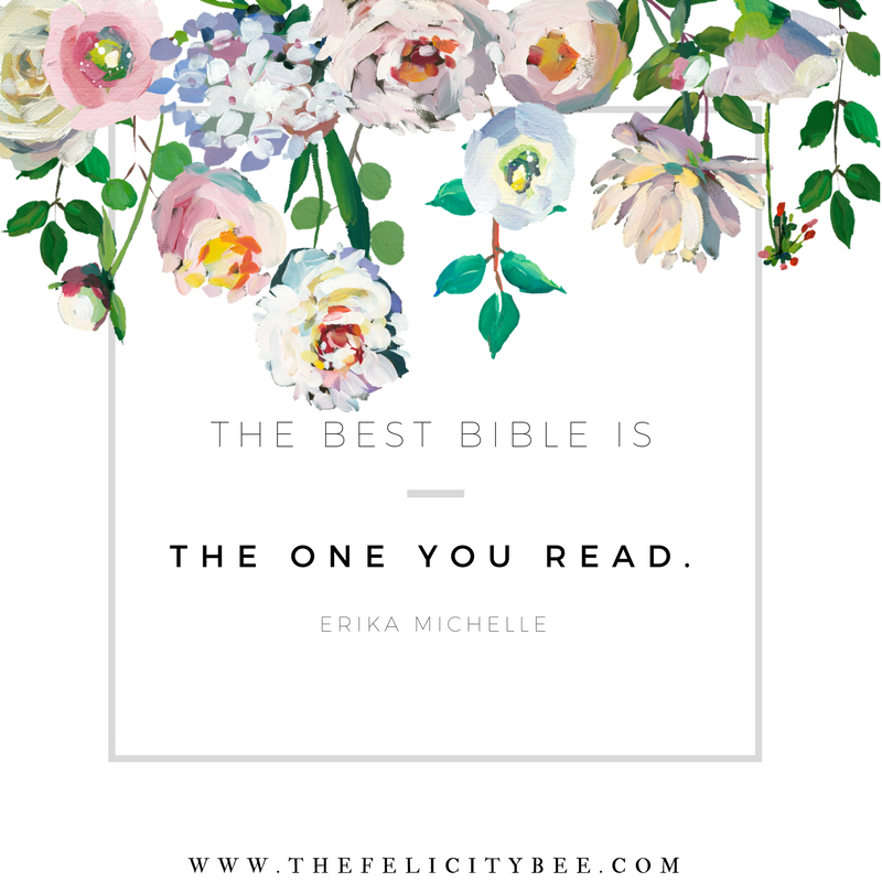 Don't get confused. Bottom line . . . a good Bible is the one you read. Period.