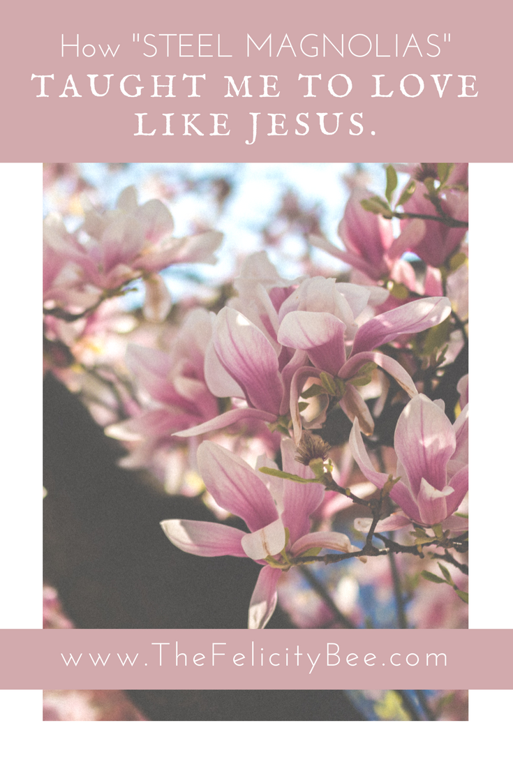 What do Steel Magnolias, being cursed out in front of a group of people, and loving like Jesus have in common? Today, I am sharing five ways we can love difficult, unlovable people like Jesus did . . .