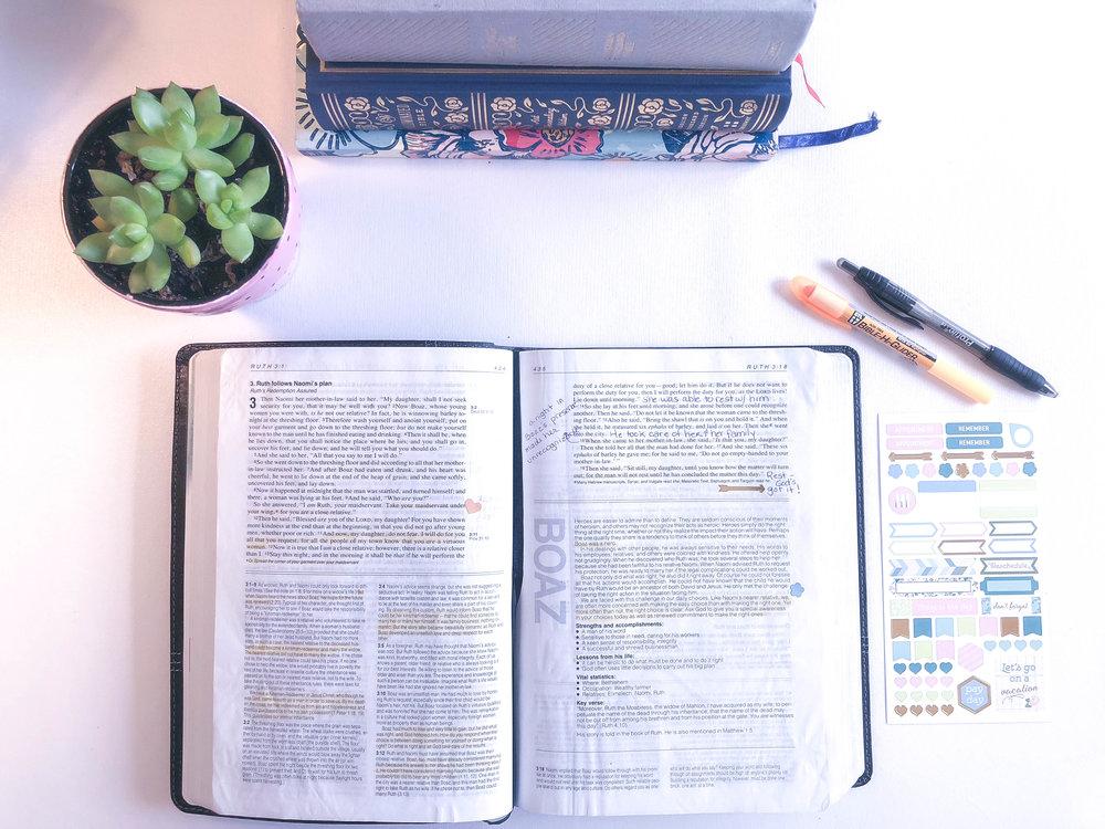 THE NKJV Life application bible.