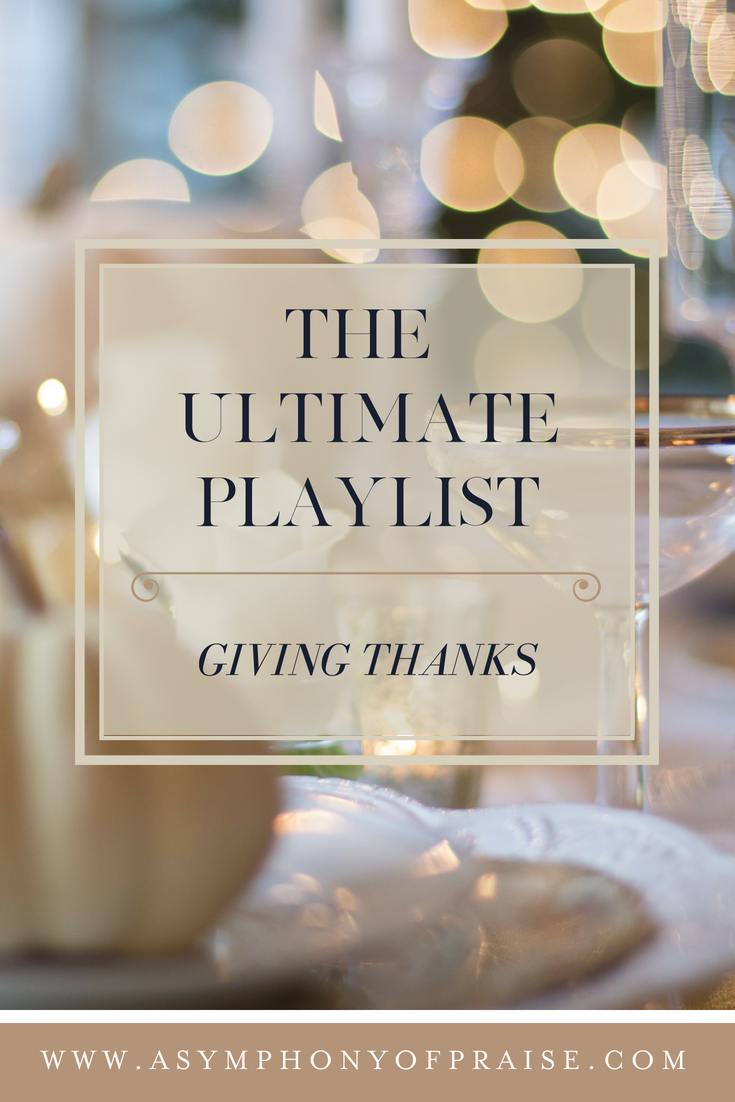 Click Here to Listen to this Worship Music Playlist. This Season of Thanksgiving, give Him your worship and praise. Thank Him for the year He has given you, and thank Him for what He is about to do in your lives. Enter His gates with Thanksgiving and enter His courts with praise!