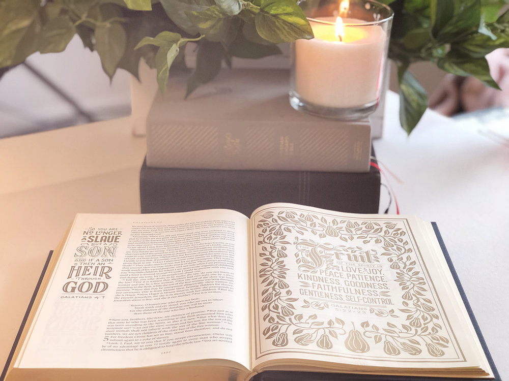 The  ESV Illuminated Bible  is not only beautiful, but the translation is one of the most accurate word-for-word translations.