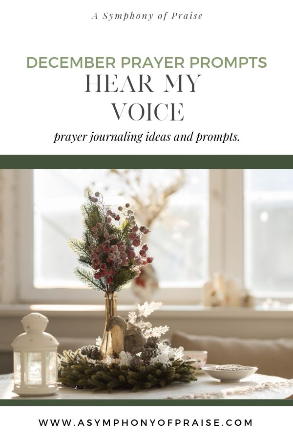 These prayer prompts are designed to help you come before God with your whole heart. Use these to pray out loud or even in your prayer journal. They are an excellent place to get started.
