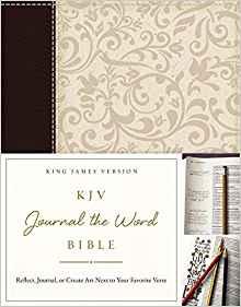 KJV Journal the Word Bible