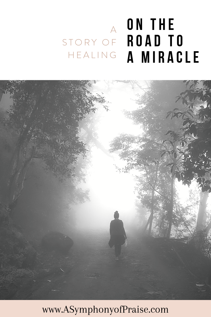 My story of healing is long, but I am walking on my road to a miracle. From mental health, to obesity, to grief and sorrow, the Lord has walked by my side the entire way. I invite you to walk with me as I share my testimony, and hopefully inspire you in yours.