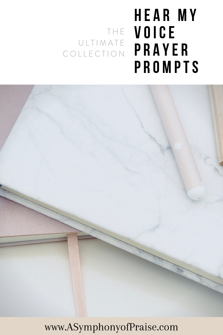 The Ultimate List of Prayer Journal Prompts will give you over a years worth of prompts to start cultivating a powerful relationship with Jesus through prayer. It's time to strengthen your prayer life.
