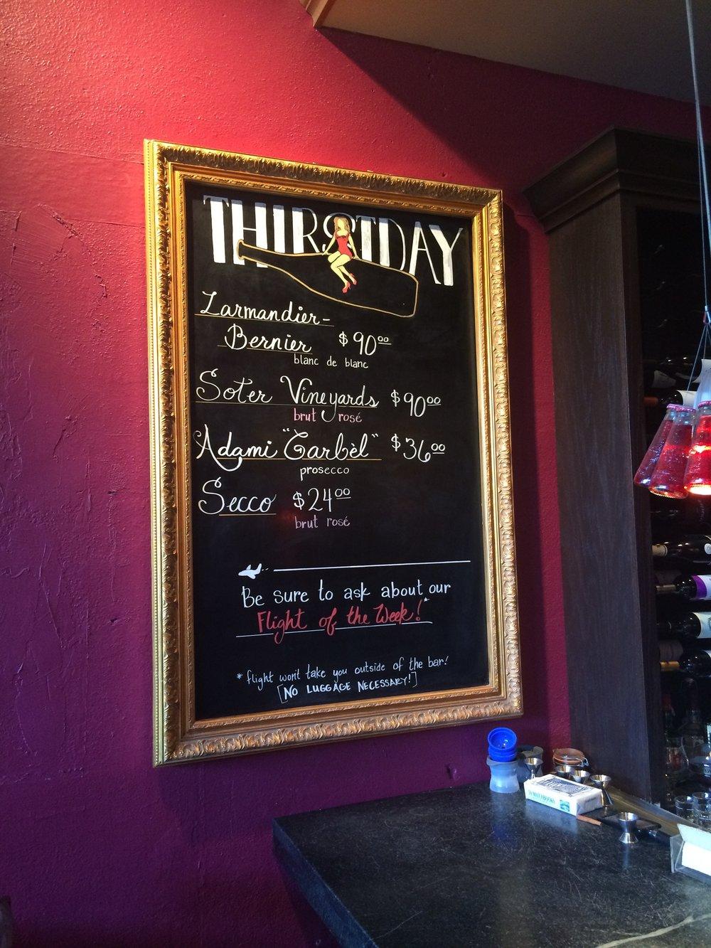 Vintage 1740 Wine Bar / Tulsa, OK
