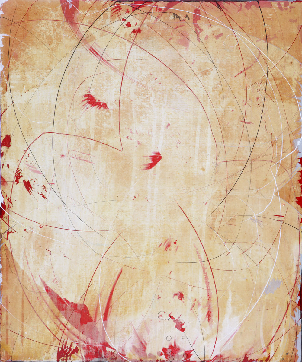 "saffron 1    24""X20""    ACRYLIC ON canvas  2009"
