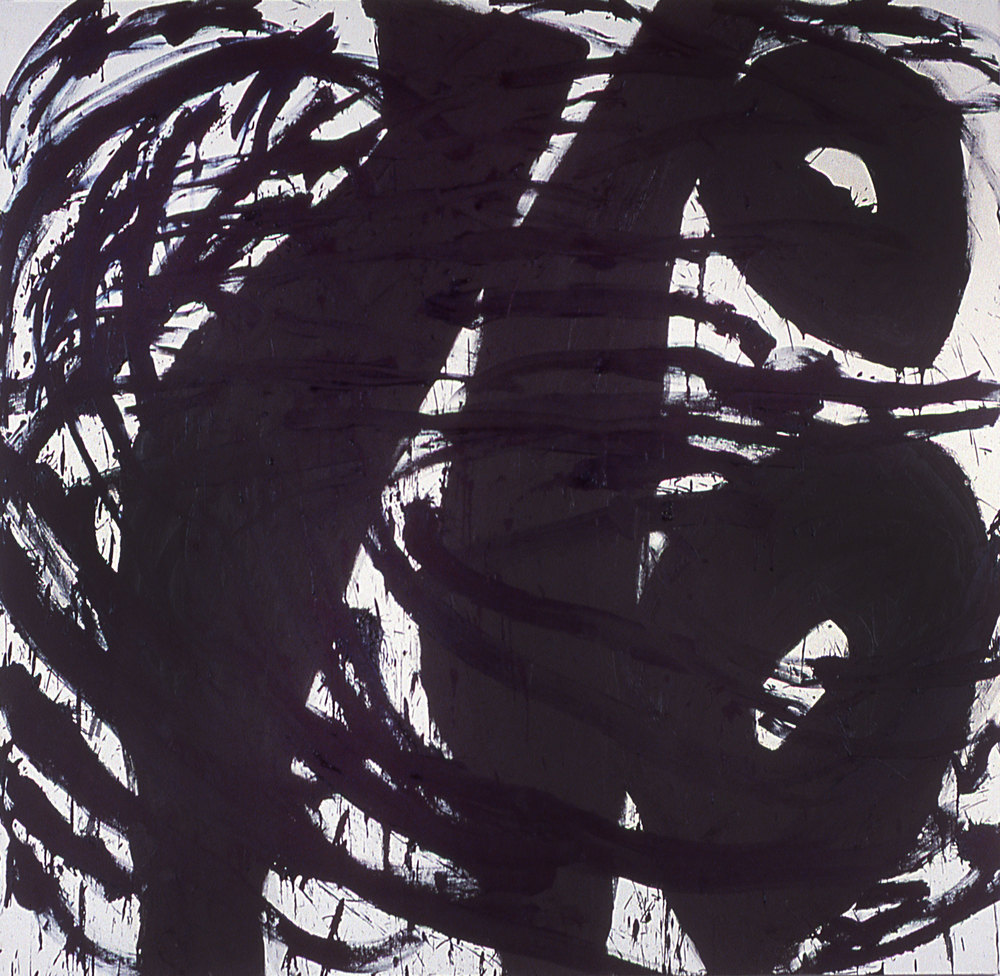 "chum    77""X79""      oil ON CANVAS  198  5"