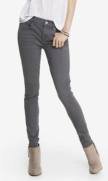 express gray denim