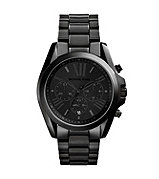 Bradshaw black MK mens watch