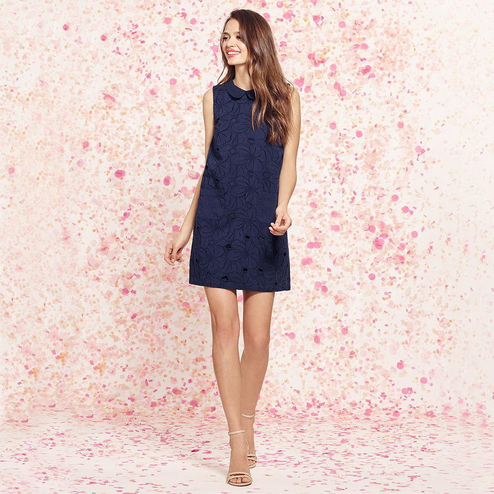 navy LC dress KOHLS