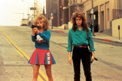 NIGHT OF THE COMET, Kelli Maroney, Catherine Mary Stewart, 1984