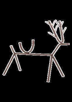 reindeerwineholder