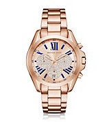 MK rosegold watch