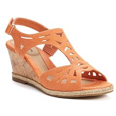 Orange KOHLS shoes