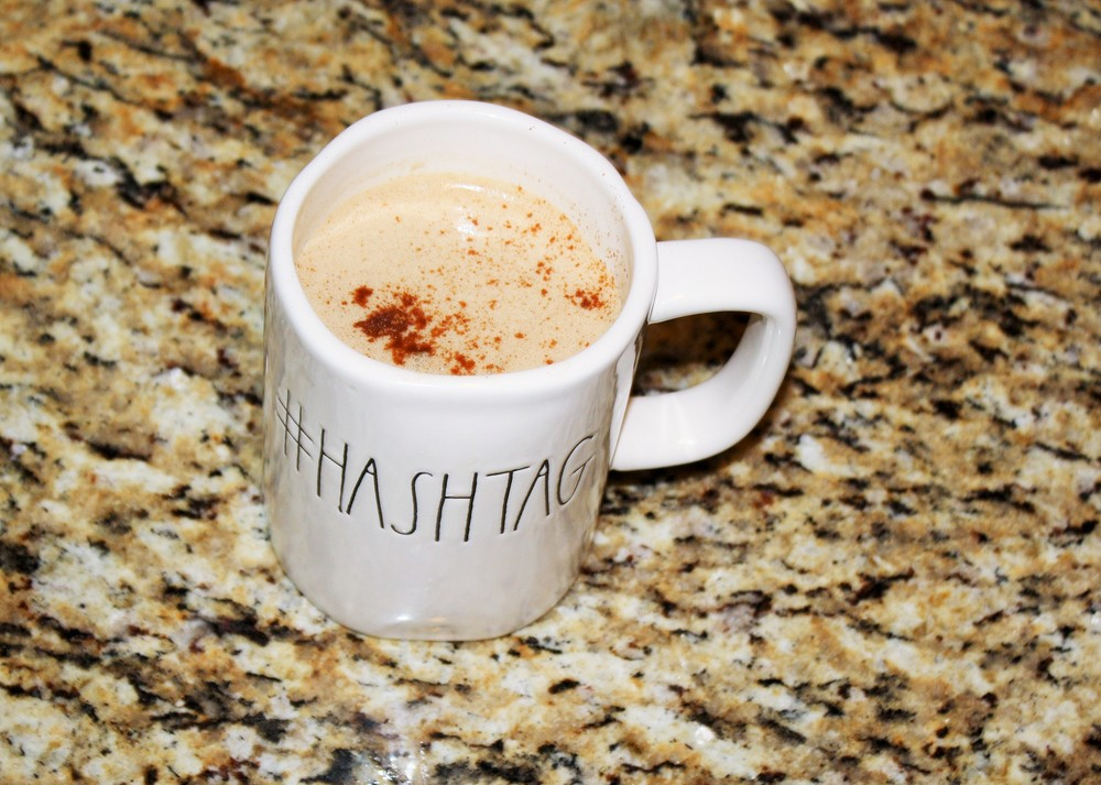 #myhashtagmug - This mug is a full 16oz full of clean, mold-free Bulletproof coffee,  grass-fed butter and a dash of cinnamon.