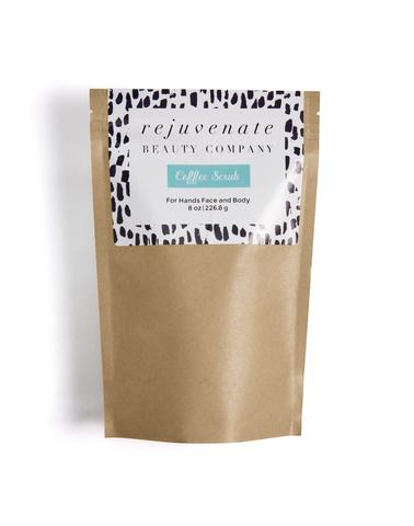 This coffee Body & Face Scrub made from natural and organic ingredients from fair trade farms and compassion organizations leaves you feeling soft and invigorated all over! Sizes vary, 2oz is $9.95 (the PERFECT stocking stuffer!)