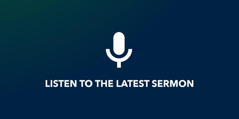 Listen to sermon..