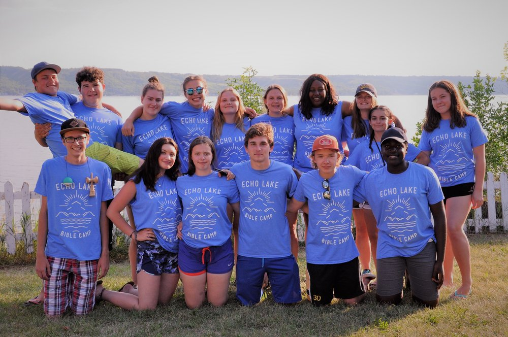 Some of our amazing cabin leaders from 2018!